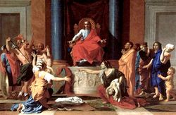 Nicolas poussin sentenza salomone 1649.jpg
