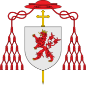 Coat of arms of Mgr Pierre de Luxembourg.png