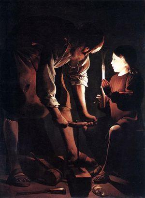 San Giuseppe, l'uomo dei sogni 300px-FRA_Parigi_MuLouvre_G.deLaTour_S.Giuseppe_1640ca