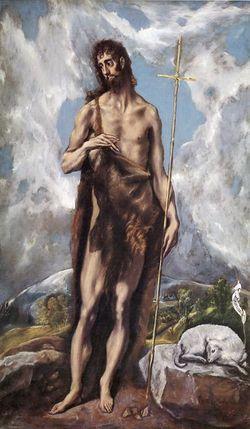 San Juan Bautista - El Greco - Lienzo - hacia 1600 - 1605.jpg