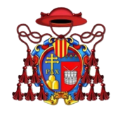 Coat of arms of Fortunato Tamburini.png