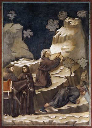 Giotto - Legend of St Francis - -14- - Miracle of the Spring2 jpg.jpg